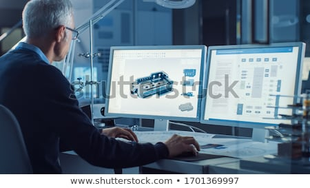 Design, Develop and Integrate Stock photo © raywoo
