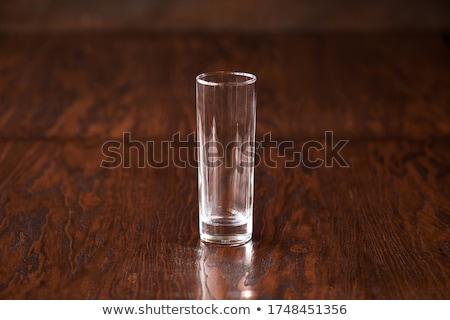 empty drinking glass Stock photo © prill