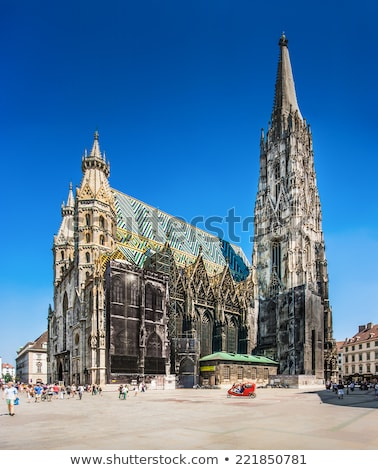ststephan cathedral vienna austria stock photo © franky242