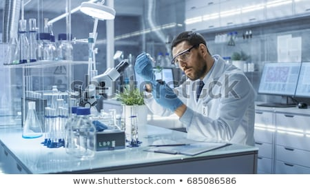 Man in the laboratory Stock photo © photography33