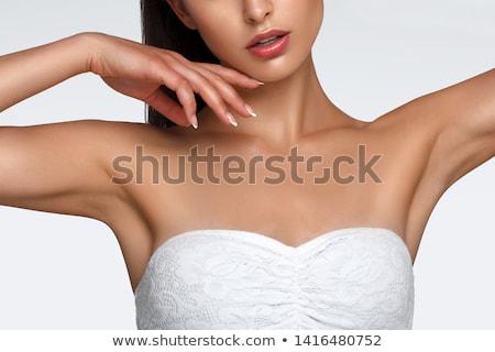 Tökéletes női test szép fenék gyomor Stock fotó © Studiotrebuchet