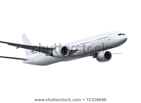 airplane on white background with path Stock photo © ssuaphoto