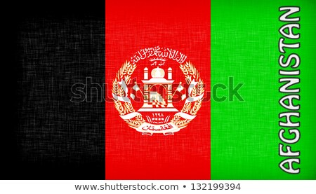 Flag of Malawi stitched with letters, isolated Stock photo © michaklootwijk