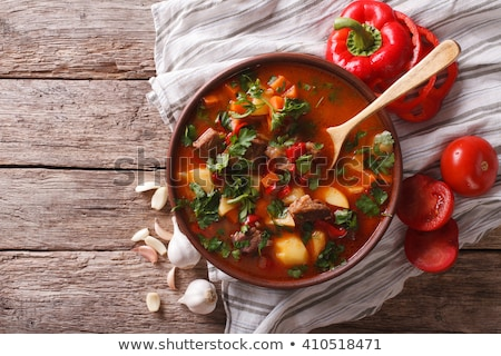 Goulash soup Stock photo © MKucova