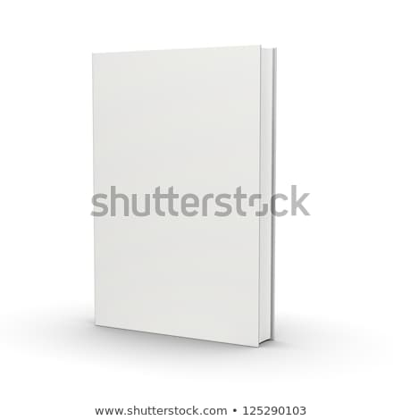 3D blank hardcover book isolated on white background.  Stock photo © tuulijumala