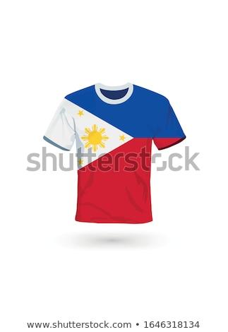 フラグ フィリピン サッカー チーム 国 ストックフォト © MikhailMishchenko