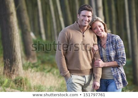 Couple On Romantic Country Walk Through Woodland Stock photo © monkey_business