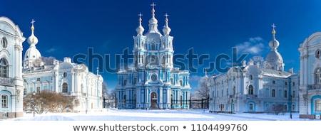catedral · Rusia · hermosa · ejemplo · barroco · arquitectura - foto stock © alessandro0770