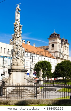 marian plague column kosice slovakia stock photo © phbcz