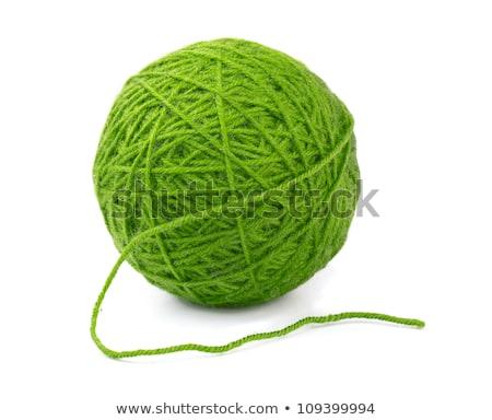 ярко зеленый шерсти трикотажный аннотация Сток-фото © dariazu