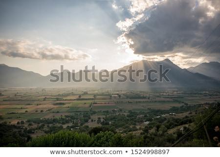 Feneos Plateau Stock photo © igabriela