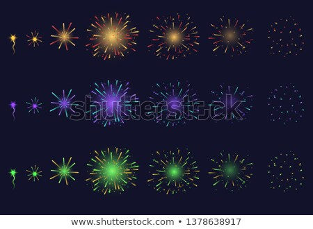 Fireworks sparkler detail Stock photo © milsiart