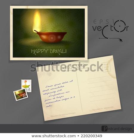 deepavali postage stamp stock photo © lorenzodelacosta