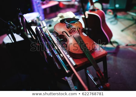 Tradicional irlandés palo mesa de madera música mesa Foto stock © wavebreak_media
