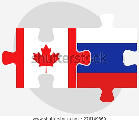 Канада русский головоломки вектора изображение изолированный Сток-фото © Istanbul2009