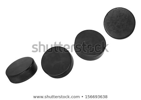 Hockey puck isolated Stock photo © michaklootwijk