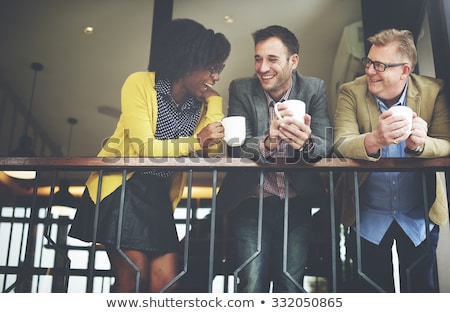 Coworkers on a Coffee Break Stock photo © JamiRae