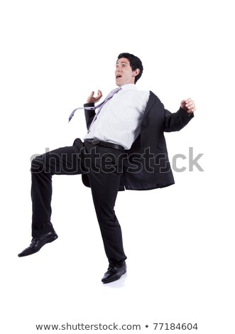 Business man fall position Stock photo © fuzzbones0