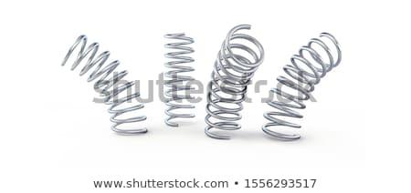 metal springs Stock photo © ozaiachin