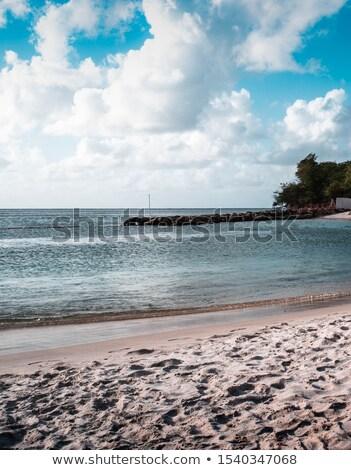 Deniz gökyüzü ada su arka plan yaz Stok fotoğraf © bank215