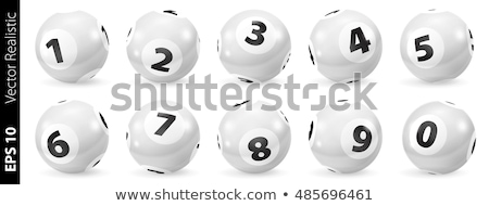 Lottery balls set stock photo © Oakozhan