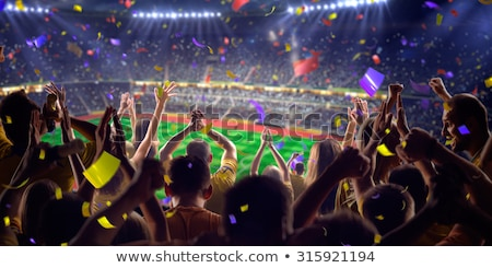 soccer crowd Stock photo © hayaship