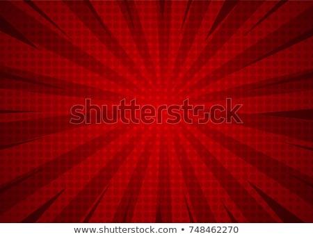 グレー 赤 ハーフトーン 背景 レトロな パターン ストックフォト © SArts