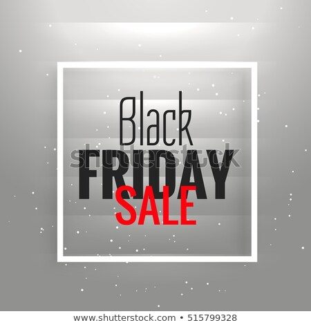 Black friday venda cinza brilhante quadro Foto stock © SArts