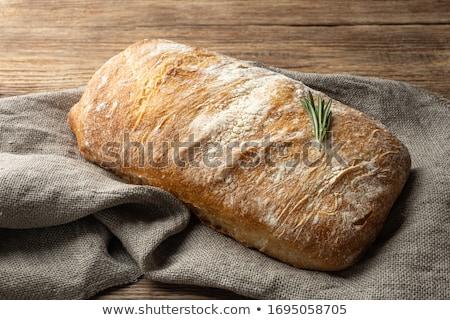 fresh ciabatta bread Stock photo © Digifoodstock