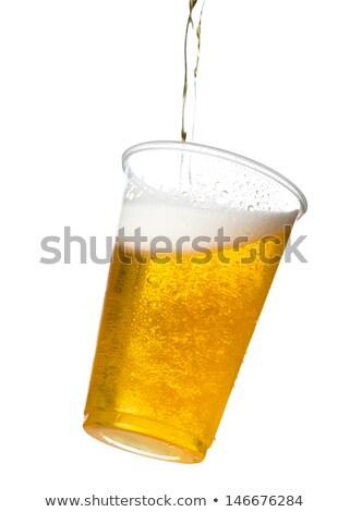 Completo ponta copo restaurante financiar sucesso Foto stock © IS2