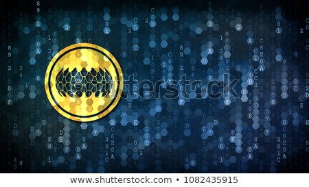 Sirin Token - Logol on Digital Background. Stock photo © tashatuvango