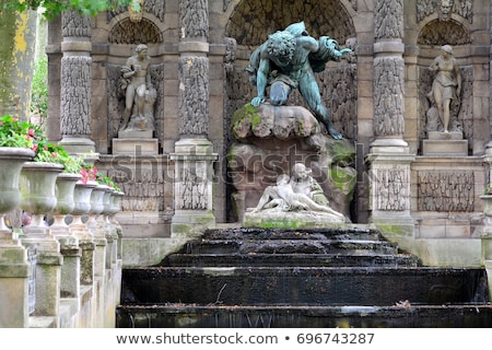 Fountain in Paris Stock photo © Givaga