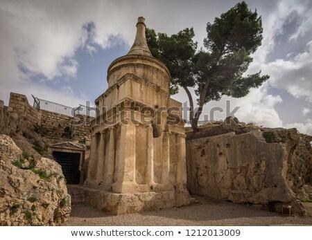 Ancient jewish cemetery Stock photo © fyletto