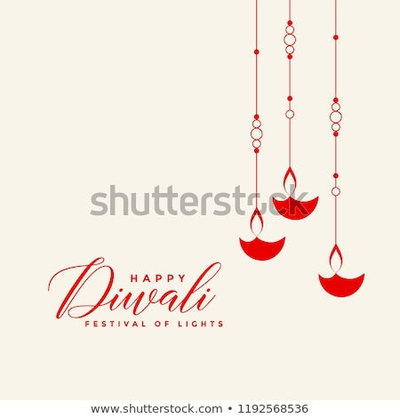 awesome diya background for diwali festival Stock photo © SArts