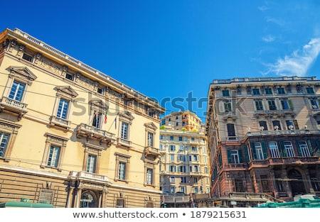 Vittorio Emanuele II Monument In Genoa. Italy Stock photo © boggy