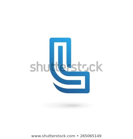 文字l ロゴタイプ ロゴ アイコン ベクトル ストックフォト © blaskorizov