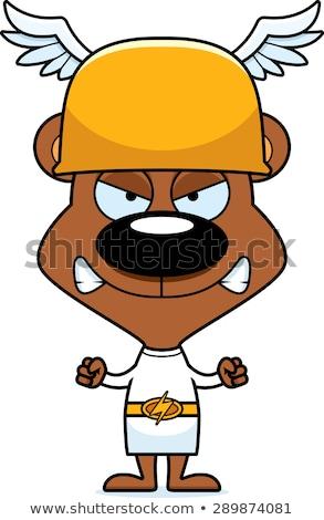 Cartoon Angry Hermes Bear Stock photo © cthoman