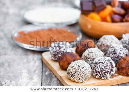 walnut seed praline Stock photo © FOKA