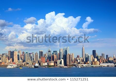 View Of Manhattan Skyline Over Hudson River Stock photo © AndreyPopov