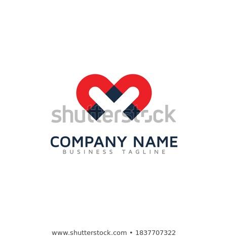 M betű mágnes gyerekek gyerekek oktatás levél Stock fotó © colematt