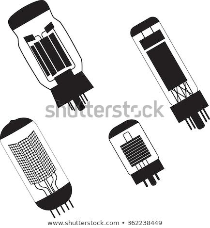 電子 真空 管 アイコン 色 デザイン ストックフォト © angelp