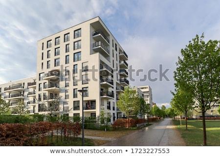 Living building in Paris Stock photo © hsfelix