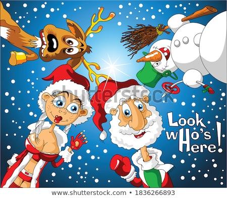 サンタクロース · クリスマス · サンタクロース · pr · 贈り物 - ストックフォト © robuart