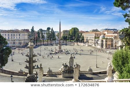 Rzym Włochy środkowy lata miasta kościoła Zdjęcia stock © hsfelix