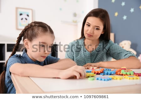 Autistic Child Symptoms Stock photo © Lightsource