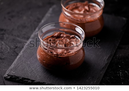 Mousse Au Chocolat Stock photo © Pheby