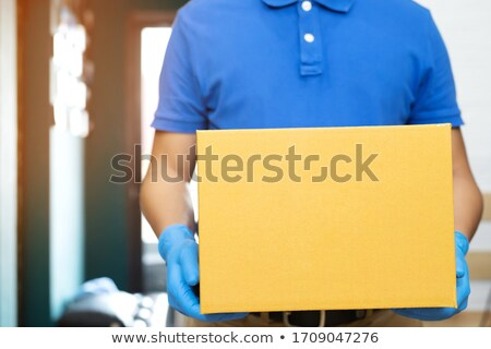 Germs On Delivery Packages Stock photo © Lightsource