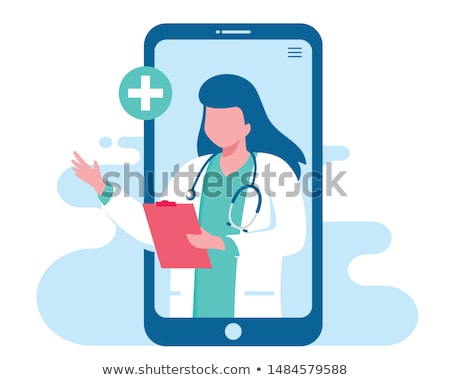 Online Medical Consultation, Doctors Aid Website Stock photo © robuart
