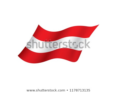 Flag of the Republic of Austria Stock photo © Supertrooper