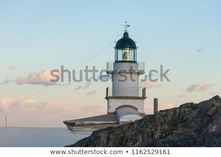 Kapak deniz feneri ışık Stok fotoğraf © arocas